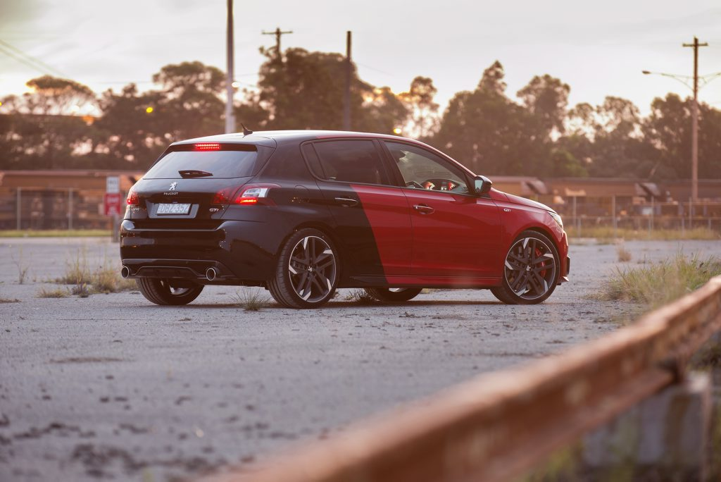 2016 Peugeot 308GTi 270. Photo: Contributed