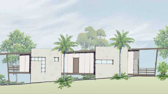ECO: An artist's impression of a home at Peter Chen's lifestyle resort at River Heads.