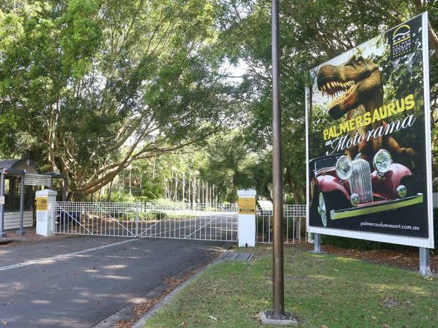 CLOSED: The Palmer Coolum resort has had its gates closed to the public.