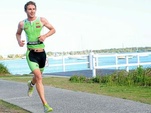 FIRING WALL: Yamba triathlete set for home race