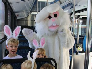 Hop aboard Council's free Easter holiday buses