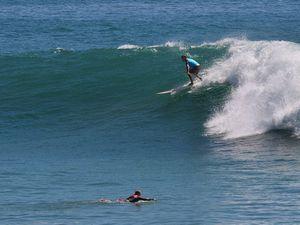 Winston weekend waves rolling in