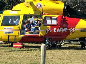 Woman airlifted following Dorrigo traffic incident