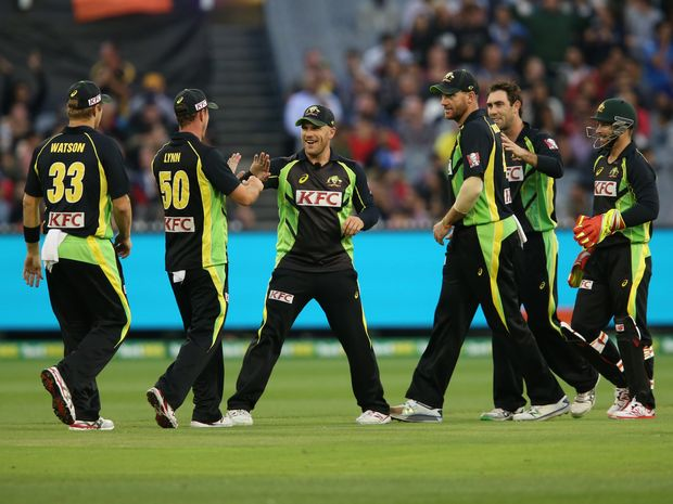 The Aussies will play a series against South Africa in the lead-up to the World T20 Championship. Photo: AAP Image.