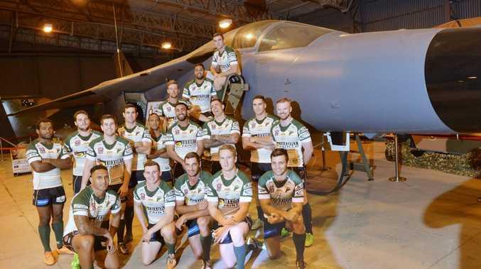 Jets season launch at RAAF Amberley. Photo Inga Williams / The Queensland Times