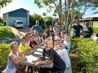 GOOD NEIGHBOURS: The families in Buderim's Chablis Crt want to keep their community picnic table despite a council order that it must be removed.