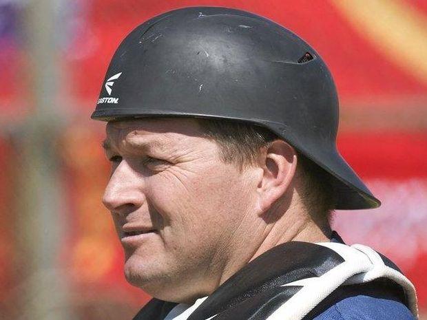 LOOKING AHEAD: Toowoomba Rangers catcher and coach Tony Tarca.