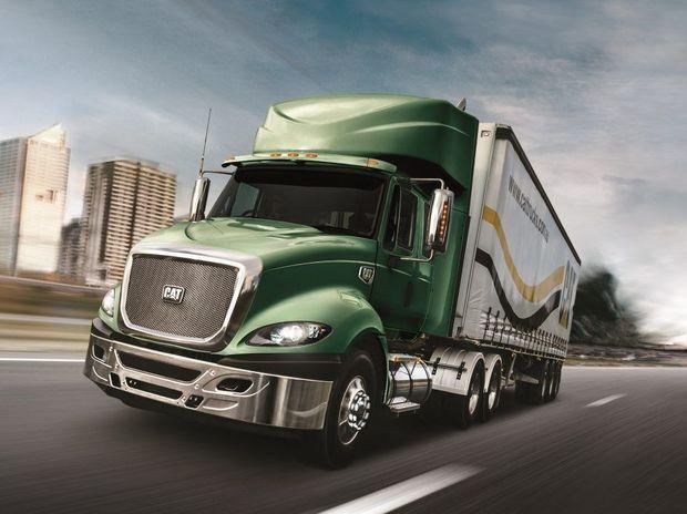 Cat Trucks will still be supplied to the Australian market through Navistar Auspac.