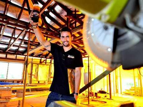 Ben Jamieson of Rick's Garage and Diner in palmwoods checks out the renovations. Photo: John McCutcheon / Sunshine Coast Daily