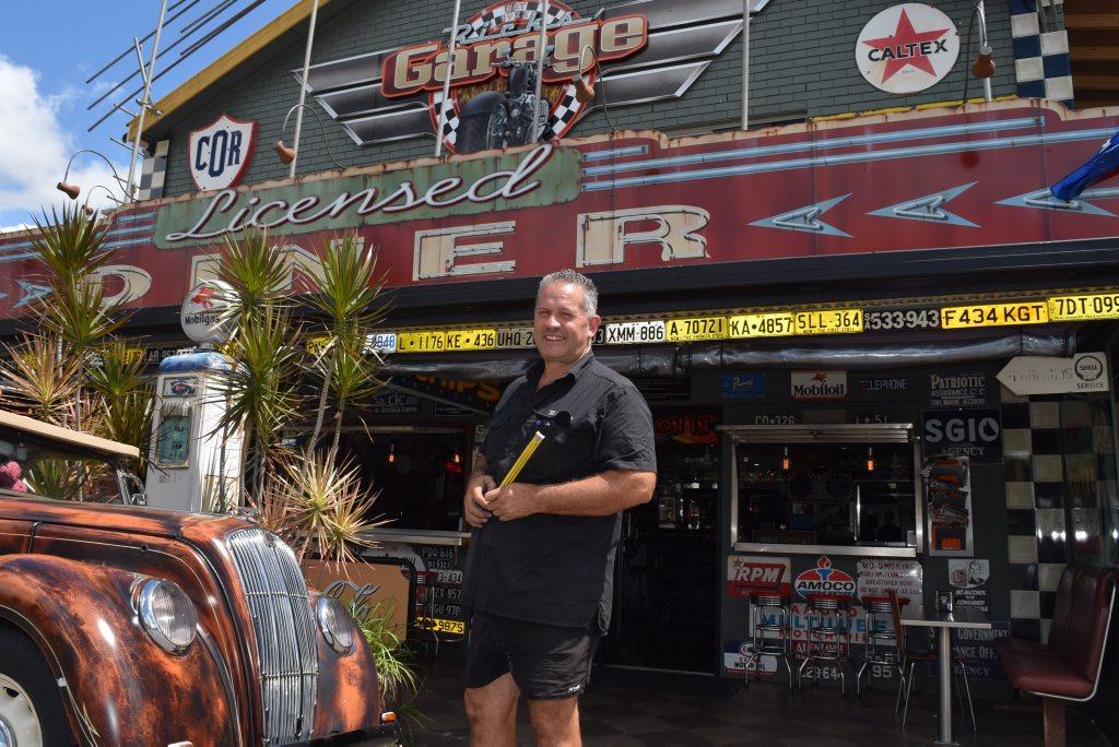 Rick Jamieson, Rick's Garage and Diner, Palmwoods. Tuesday February 23, 2016