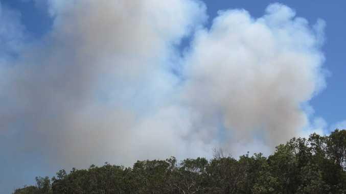 Wooli Bushfire 26 Feb 2016 copyright Tanja Ackerman