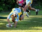 Rugby League, Maryborough - Gympie Devils defeated Maryborough Brothers 30-22. Devils' Kadison Millard.