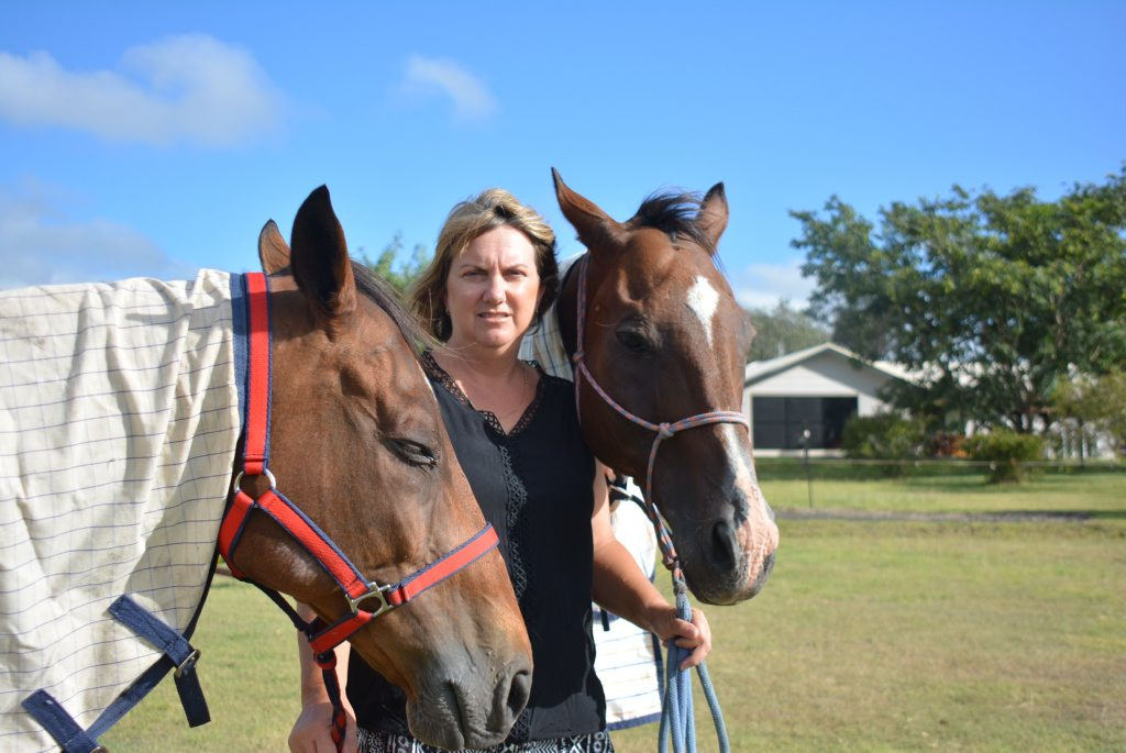 Annette Goodchild is not continuing vaccinating her horses against Hendra because she is scared of the side effects.