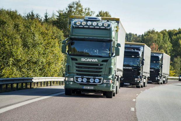 Scania and Ericsson to develop connected truck technology together. Photo Contributed