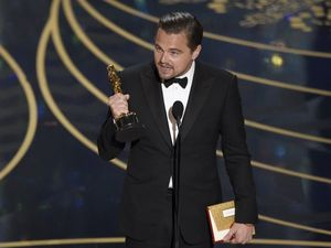 Leonardo DiCaprio wins first Oscar for The Revenant