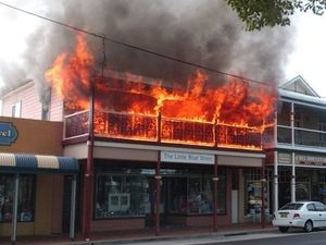 Fire rebuild delay not our fault says council GM