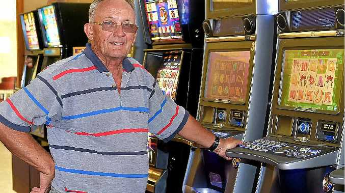 ON THE WAY OUT: Poker machines are set to be wheeled out of the bowls club at Yandina, as part of a revamp there.
