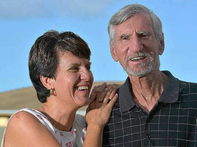 GRATEFUL: Lee-Ann Stevens is thankful to the people who rescued her father Eddie Smith.