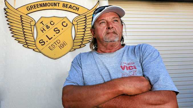 TOUGH CLUB: Rodney Jones, vice-president of the Tweed Heads and Coolangatta Surf Life Saving Club has joined the search for the Toughest Surf Life Saving Club.