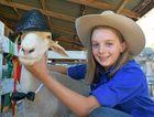 Melanie Hurley and her pet lamb, Turbo took out Champion Pet Lamb at last year's Tara Show.