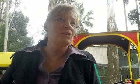 CCTV footage shows Ellen Wilson outside a bank in Lismore on the day she went missing.