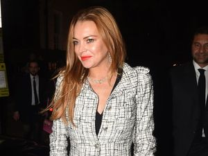 Lindsay Lohan threw fiance's phone into the ocean