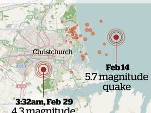 Christchurch hit by leap day earthquake