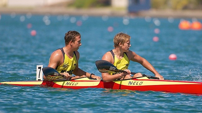 TALENTS: Sunshine Coast paddlers Conor Buhk and Joshua Jones-Rew