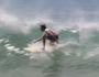 Big surf on Sunshine coast.