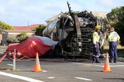 Truck driver in triple-fatal crash found dead