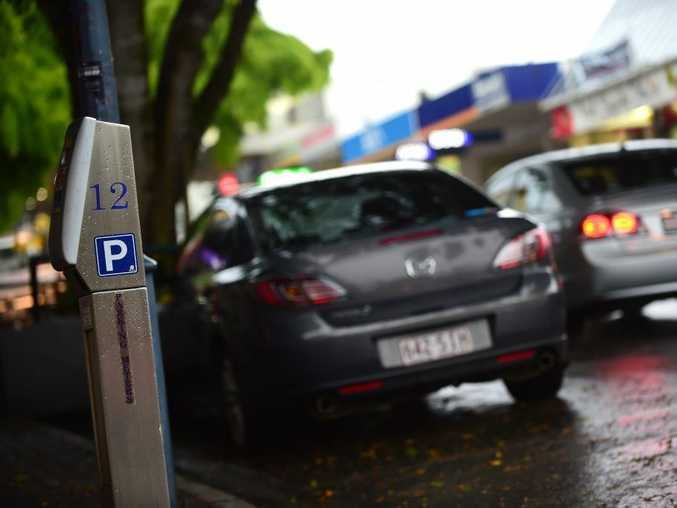 TIME IS UP: Paid parking already exists in Caloundra, on busy Bulcock St.