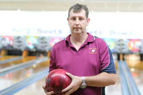 BACK IN: Jason Thomas made a return to tenpin bowling last year after a 14-year break.Photo Keagan Elder / South Burnett Times