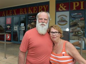 Sad scenes as bakery owners farewell loyal customers