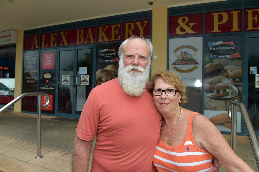 Glynn and Bruna Price from the Pastry Chef Bakery at Alexandra Headland are shutting down the business after 13 years. Photo: Warren Lynam / Sunshine Coast Daily