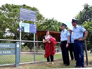 Park re-named in honour of police dog Tunza
