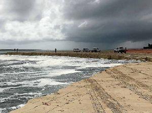 Landslide at Inskip Pt creates uncertainty