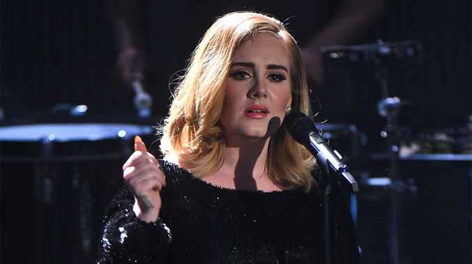 Who could say no to your girlfriend, Adele and a crowd of thousands?