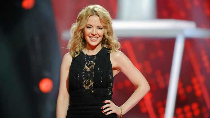 Kylie Minogue is a coach on the TV series The Voice Australia. Supplied by Channel 9/WIN. Please credit photo to Stuart Bryce.