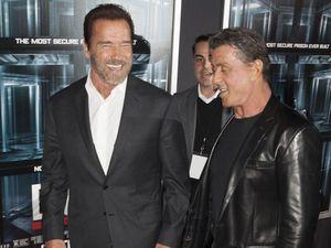 Arnold Schwarzenegger praises Sylvester Stallone after loss
