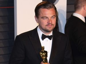 Leonardo DiCaprio wins Oscar, parties, leaves it behind