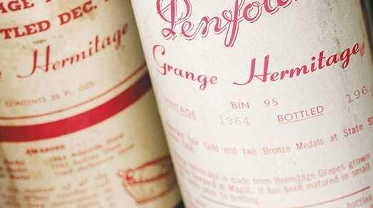 Rare original bottle of 1951 vintage Penfolds Grange sells for record $80,386 at auction