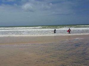 Rainbow Beach big swell