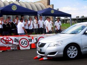 Rotary helps drive road safety