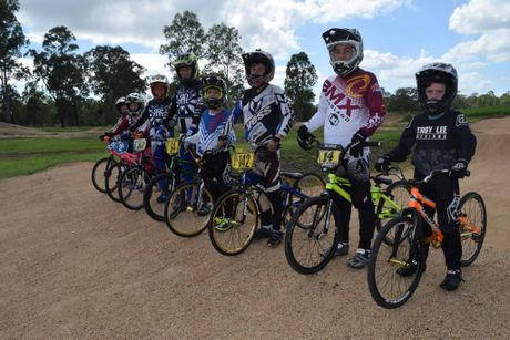 Maryborough BMX Club riders are at Bathurst for the National Championships.