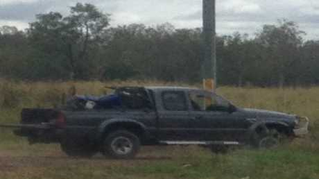 Police have released this image of the suspect's vehicle.
