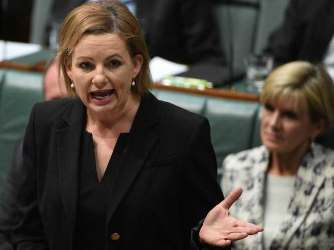 Minister for Health Sussan Ley during Question Time at Parliament House in Canberra on Monday, Feb. 29, 2016. (AAP Image/Mick Tsikas)