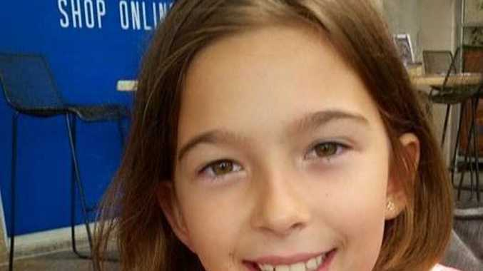 Little Mountain girl Sophie Bombski, 10, died in hospital after being pulled unconscious from a pool in The Dales Crescent. Photo Contributed