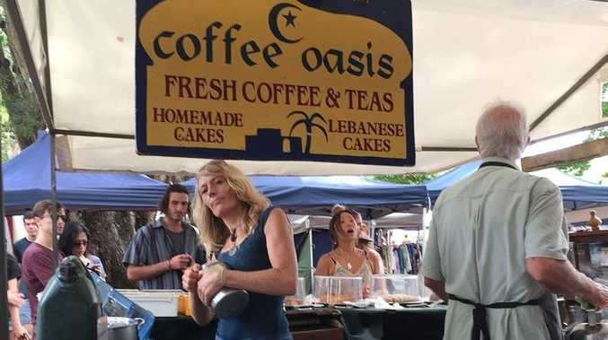 COFFEE TIME: Coffee Oasis is one of the regular operators at a number of Northern Rivers markets.