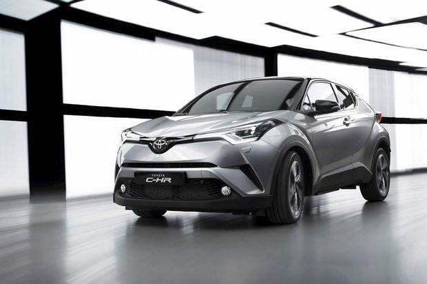 2017 Toyota C-HR small SUV.