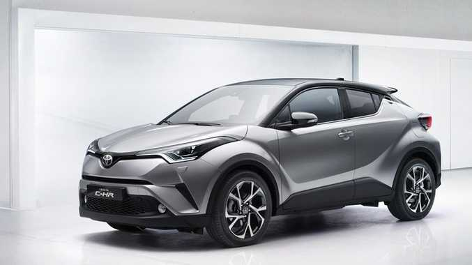 FINALLY HERE: Slightly larger than a Corolla, the incoming C-HR small SUV should cement Toyota's dominance in Australia's SUV market. Mazda CX-3 and Mitsubishi ASX be afraid.